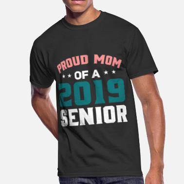 Senior Mom Senior MOM T-Shirts - Class of 2019 Shirts - Men's 50/50 T-Shirt