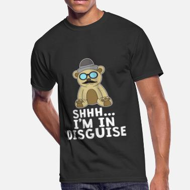Disguised Toast Funny Disguise Tshirt Design I'M IN DISGUISE - Men's 50/50 T-Shirt