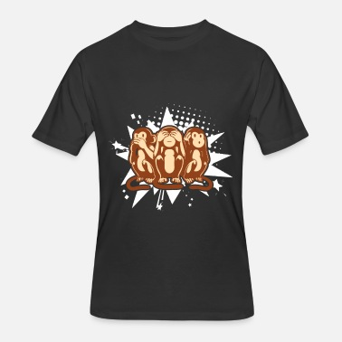 40320e95 HEAR SEE SPEAK NO EVIL SOCK MONKEYS SHIRTS Men's Premium T-Shirt ...