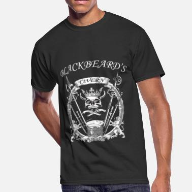 Blackbeard Blackbeard's Tavern Pirate Design - Men's 50/50 T-Shirt