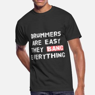 Ninja Sex Party DRUMMER - PARTY - SEX - Men's 50/50 T-Shirt