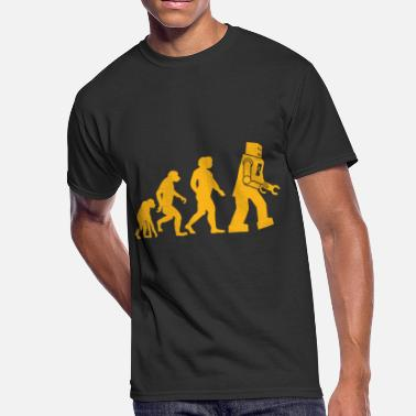 Sheldon Cooper Big Bang Theory Inspired Evolution - Men's 50/50 T-Shirt