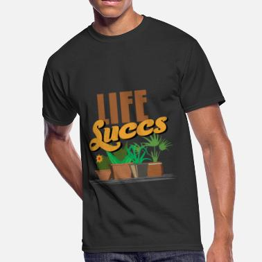 Pot Life Life succs succulent potted plant lover shirt - Men's 50/50 T-Shirt