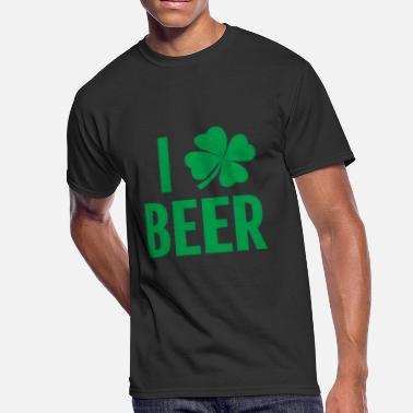 Funny St. Patricks Day Irish Beer Shamrock Gift I - Men's 50/50 T-Shirt