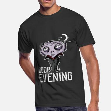 Good Evening Halloween - Good Evening Dracula - Men's 50/50 T-Shirt