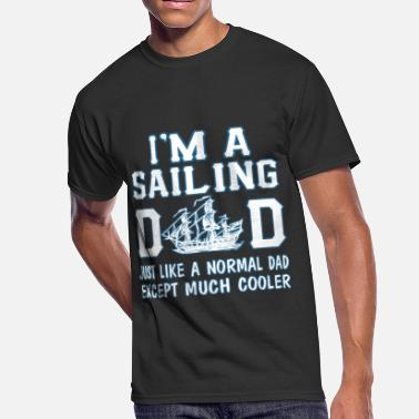 Sailing Dad Sailing Dad - Men's 50/50 T-Shirt