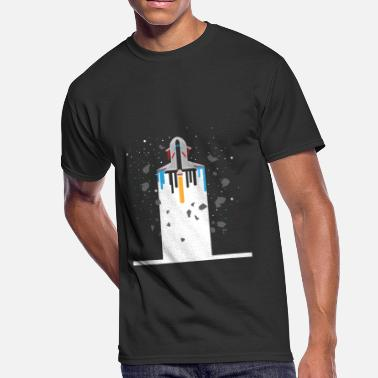 Spaceship Spaceship Timeline - Galaxy Spaceflight - Men's 50/50 T-Shirt