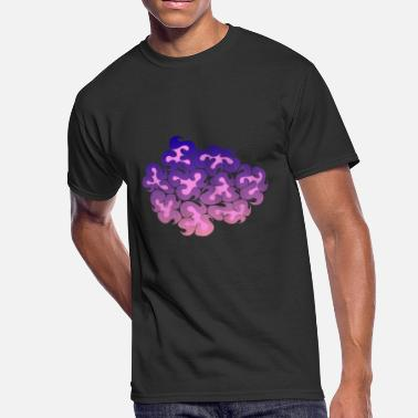 Thoughtful Art Cluster of Thoughts - Men's 50/50 T-Shirt