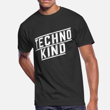 Kids Techno Techno Kid gift - Men's 50/50 T-Shirt