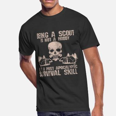 Scout Skill Scout - Survival Skill Funny Gift - Men's 50/50 T-Shirt