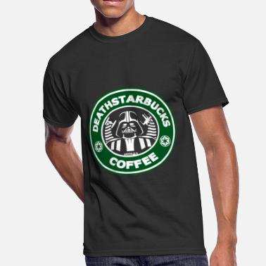Starbucks Addict Star Wars fan - Deathstarbucks coffee - Men's 50/50 T-Shirt