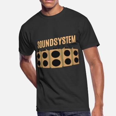 Root Dub Dub Soundsystem - Men's 50/50 T-Shirt