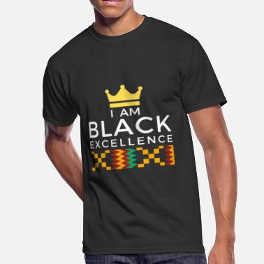 Black Excellence I AM BLACK EXCELLENCE 1 - Men's 50/50 T-Shirt