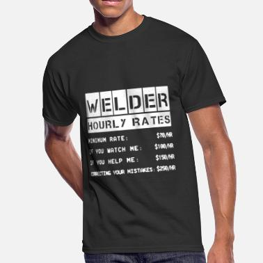 a573bbfbf Welder Hourly Rates Welder Hourly Rates Shirt - Men's 50/50