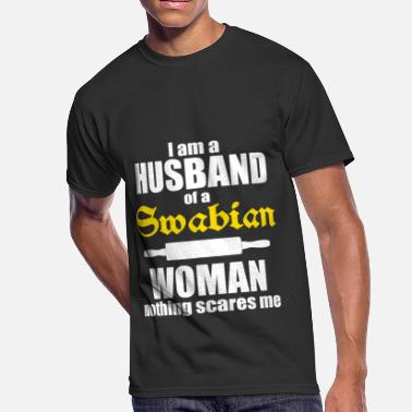 Swabian I am a husband of a Swabian woman - Men's 50/50 T-Shirt