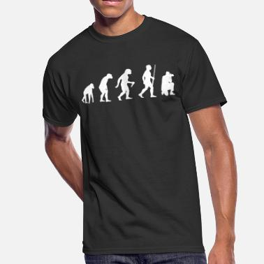 Evolution Of The Photographer Photographer Evolution - Men's 50/50 T-Shirt