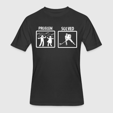 Problem Solved Hockey Problem Solved Ice Hockey - Men's 50/50 T-Shirt