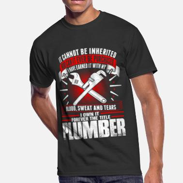 Forever The Title Forever The Title Plumber Tshirt - Men's 50/50 T-Shirt