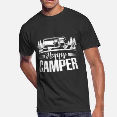 Shop Happy Camper T-Shirts online   Spreadshirt
