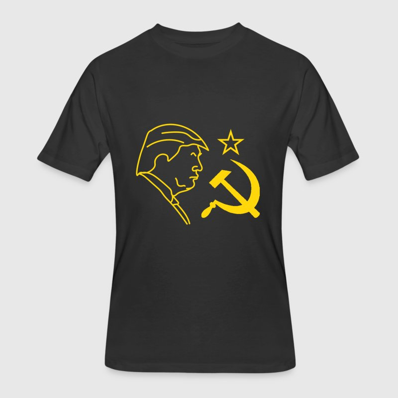 Trump Russia Hammer and Sickle - Men's 50/50 T-Shirt