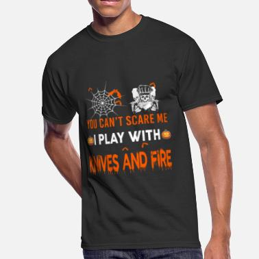 Kitchen Knives Knives And Fire - Men's 50/50 T-Shirt