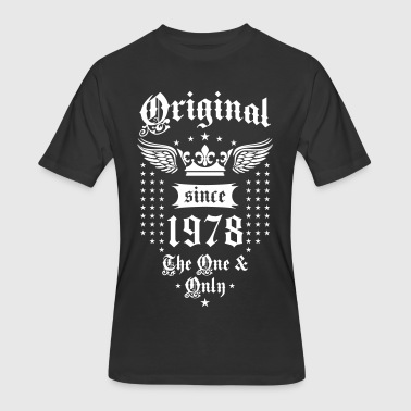Original Since 1978 The One and Only Crown Wings - Men's 50/50 T-Shirt