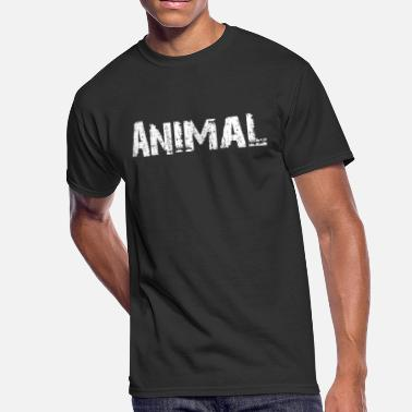 Monsters Motivation Animal Motivation - Men's 50/50 T-Shirt