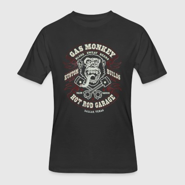 GAS MONKEY LOGO - Men's 50/50 T-Shirt