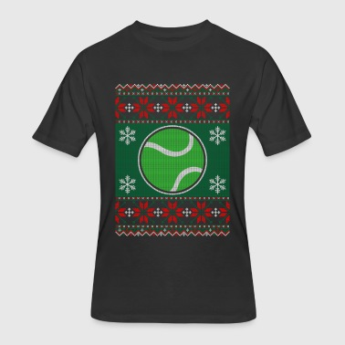 Ball-sweaters Tennis Ball Ugly Christmas Sweater - Men's 50/50 T-Shirt