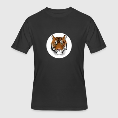 Eye of the Tiger - Men's 50/50 T-Shirt
