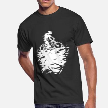 Bike Art mountain bike art - Men's 50/50 T-Shirt