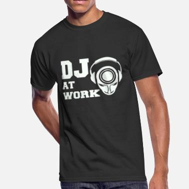 Dj@work DJ AT WORK - Men's 50/50 T-Shirt