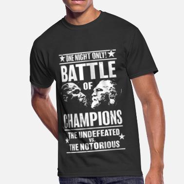 2bb67d52 Conor Mcgregor battle_2 - Men's 50/50 T-Shirt