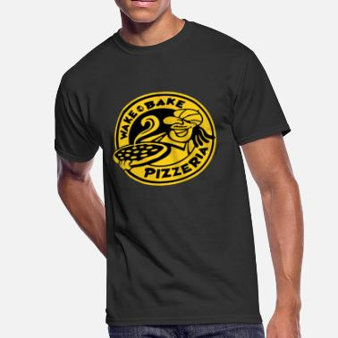 Pizzeria WAKE & BAKE PIZZERIA - Men's 50/50 T-Shirt
