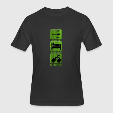 Cycling - Men's 50/50 T-Shirt