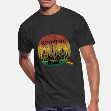 Raggae burning raggae - Men's 50/50 T-Shirt