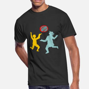 Passing passing the ball - Men's 50/50 T-Shirt