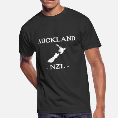 Pacific Auckland Auckland - NZL - New Zealand - Maori - Kiwi - Men's 50/50 T-Shirt