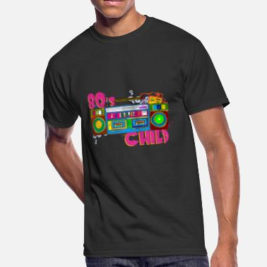 80s 80's child - Men's 50/50 T-Shirt