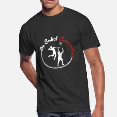 Volleyball Sayings Volleyball Solid connection - Men's 50/50 T-Shirt