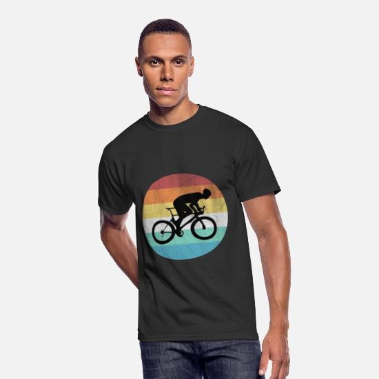 Bicycle T-Shirts - Bicycle - Men's 50/50 T-Shirt black