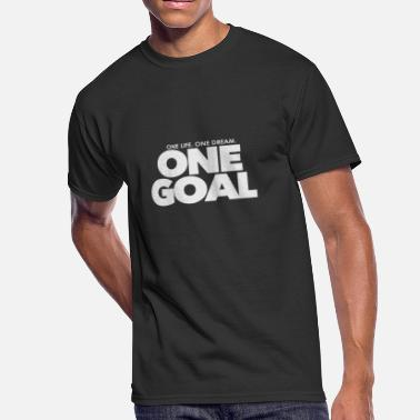 One Goal one life one dream One Goal 1 - Men's 50/50 T-Shirt