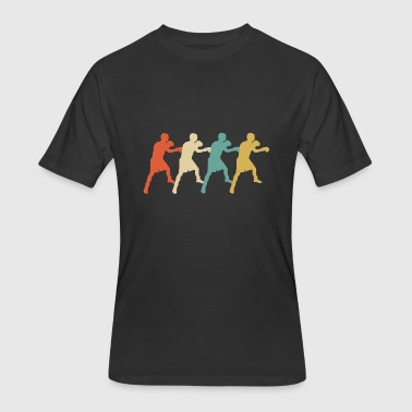 Retro Boxing Pop Art - Men's 50/50 T-Shirt
