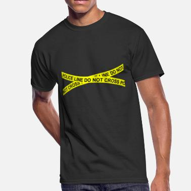Scene Police line do not cross - Men's 50/50 T-Shirt