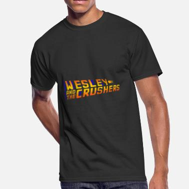 Wesley Crushers Wesley and the Crushers - BTTF Logo - Men's 50/50 T-Shirt