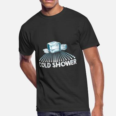 Badass Tough Guy cold shower badass ice cubes - Men's 50/50 T-Shirt