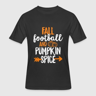 Tailgate Cute Fall Football And Pumpkin Spice TShirt Tailgate - Men's 50/50 T-Shirt