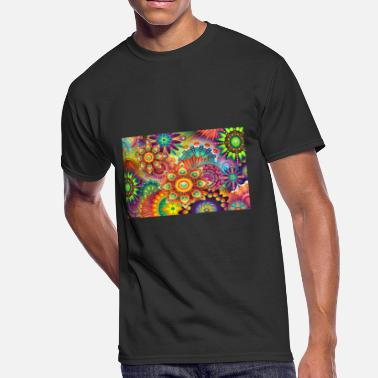 Background Color colorful abstract background - Men's 50/50 T-Shirt