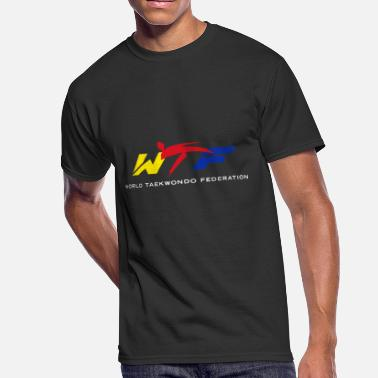 Wtf Taekwondo WTF World Taekwondo Federation - Men's 50/50 T-Shirt