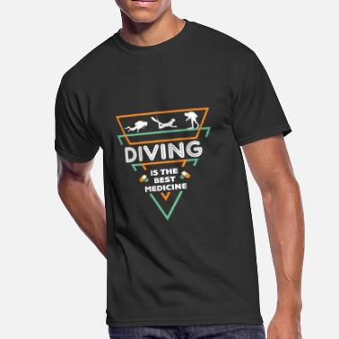 Diving Gift Diving Dive Funny Gift - Men's 50/50 T-Shirt